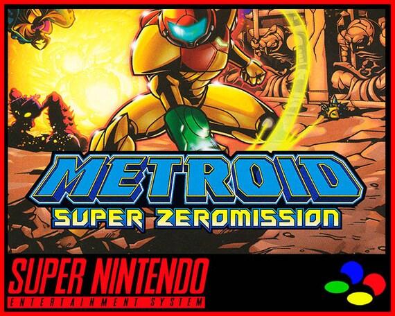 PAL SNES Reproduction Metroid Super Zeromission English