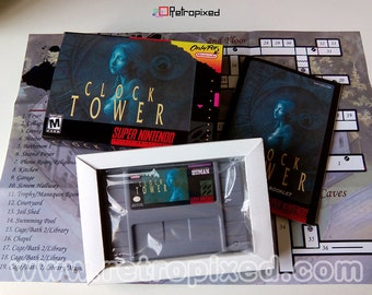 Clock Tower - NTSC - Complete in Box SNES Reproduction