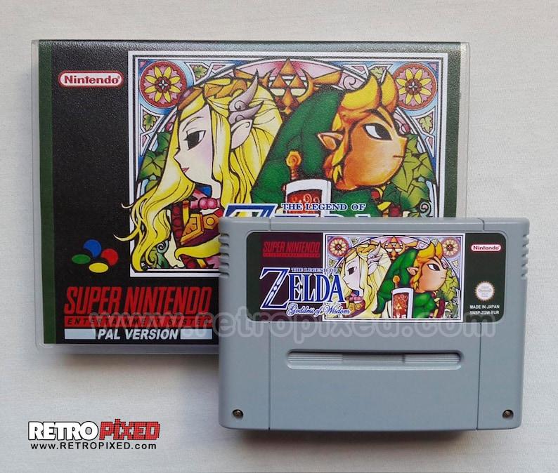 Zelda Goddess of Wisdom - PAL (SNES Reproduction) (English, German)