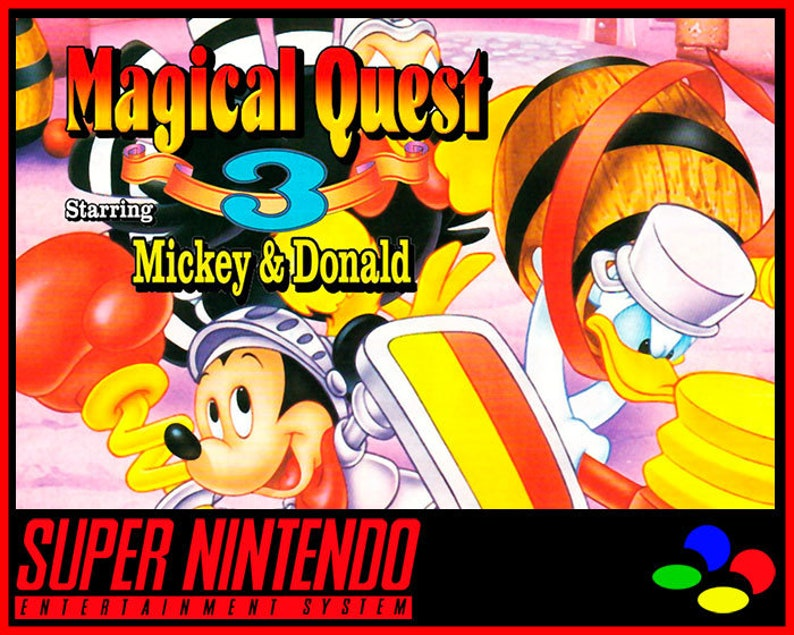 Magical Quest 3 Starring Mickey & Donald - PAL (SNES Reproduction) (English)