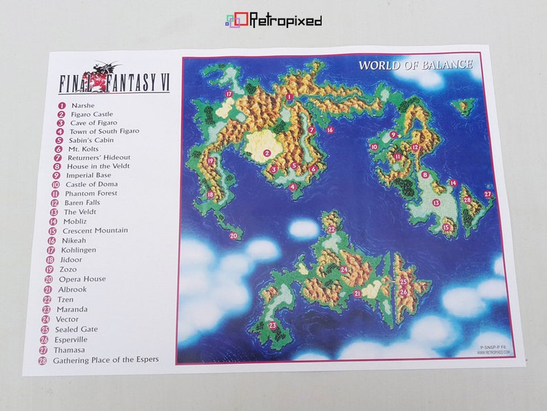 Caves of narshe ff5