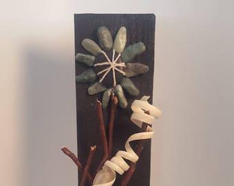 decorative wood plaque
