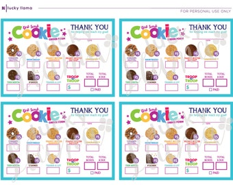 Abc Mini Girl Scout Cookie Order Form Cookie Prices Are All
