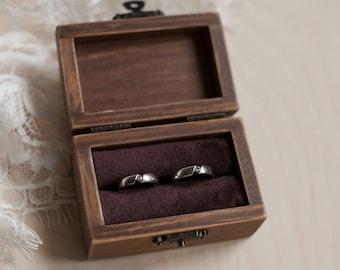 Wedding Ring Box.Wooden Ring Box Etsy