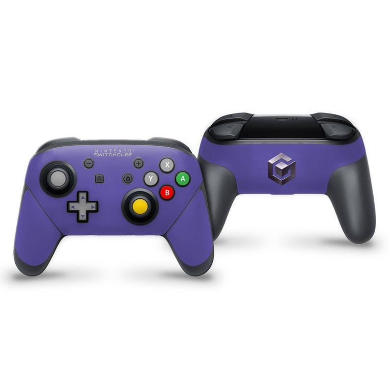 Nintendo Switch Pro Controller Skin | Gamecube theme custom skin