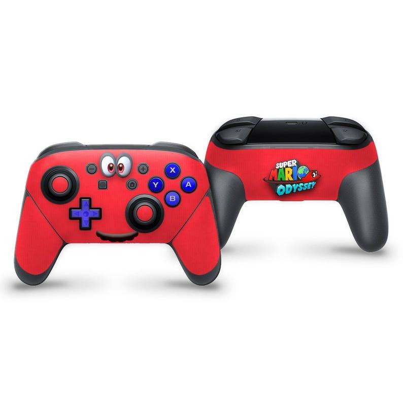 Switch Pro Controller Skin Super Mario Odyssey Cappy  62288efd4420