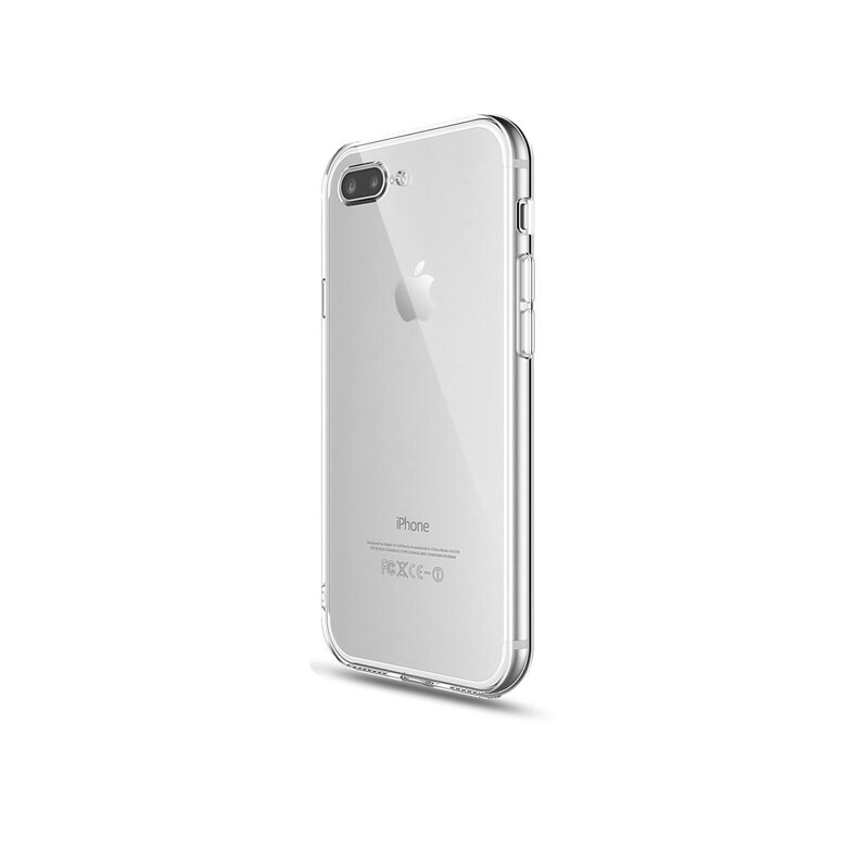 iPhone Soft Gel Clear Case | TPU silicone Flexible Case Cover iPhone X,  8/7Plus, 8/7
