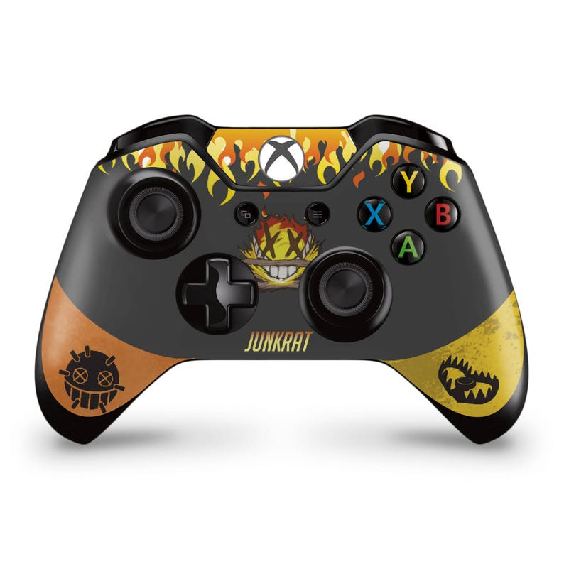 3934aefb5c8d09 Xbox One Controller Skin Junkrat overwatch inspired