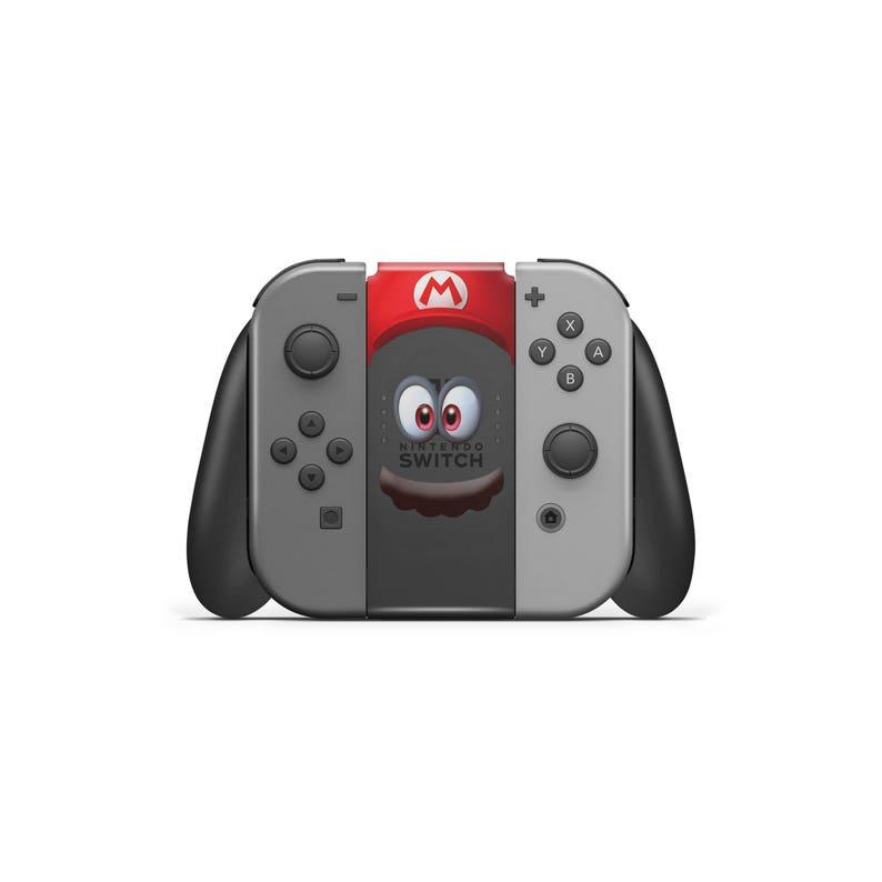 Super Mario Odyssey Nintendo Switch Joycon Cappy Stickers  d14f47b81427