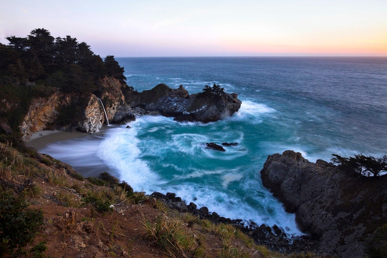 McWay Falls Fine Art Photography Big Sur California