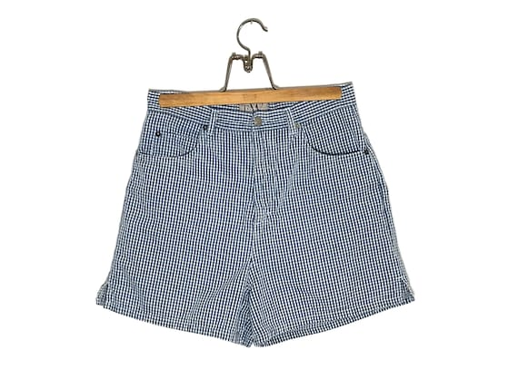 High Waisted Gingham Shorts size 30.5 | Vintage ch