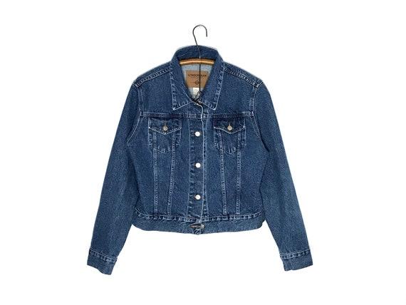 vintage denim jacket | vintage jean jacket | large