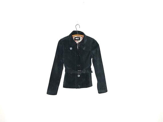 vintage suede jacket | suede jacket XS | suede tre