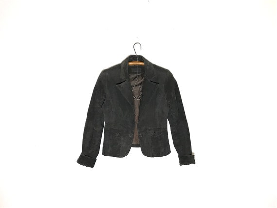 vintage suede jacket | suede jacket size Small | s