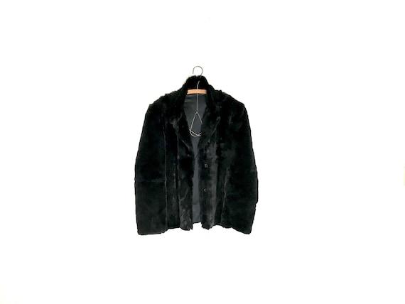 vintage fur coat | black fur coat | fur coat | fur