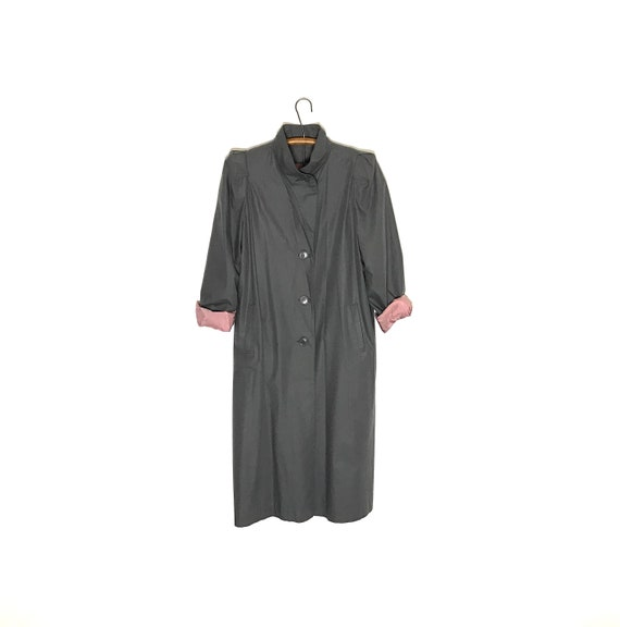 vintage trench coat| grey trench coat | spring jac