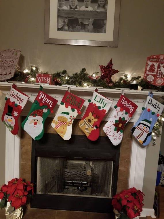 Stocking Christmas.Personalized Christmas Stocking Christmas Stockings Christmas Christmas Stocking Personalized
