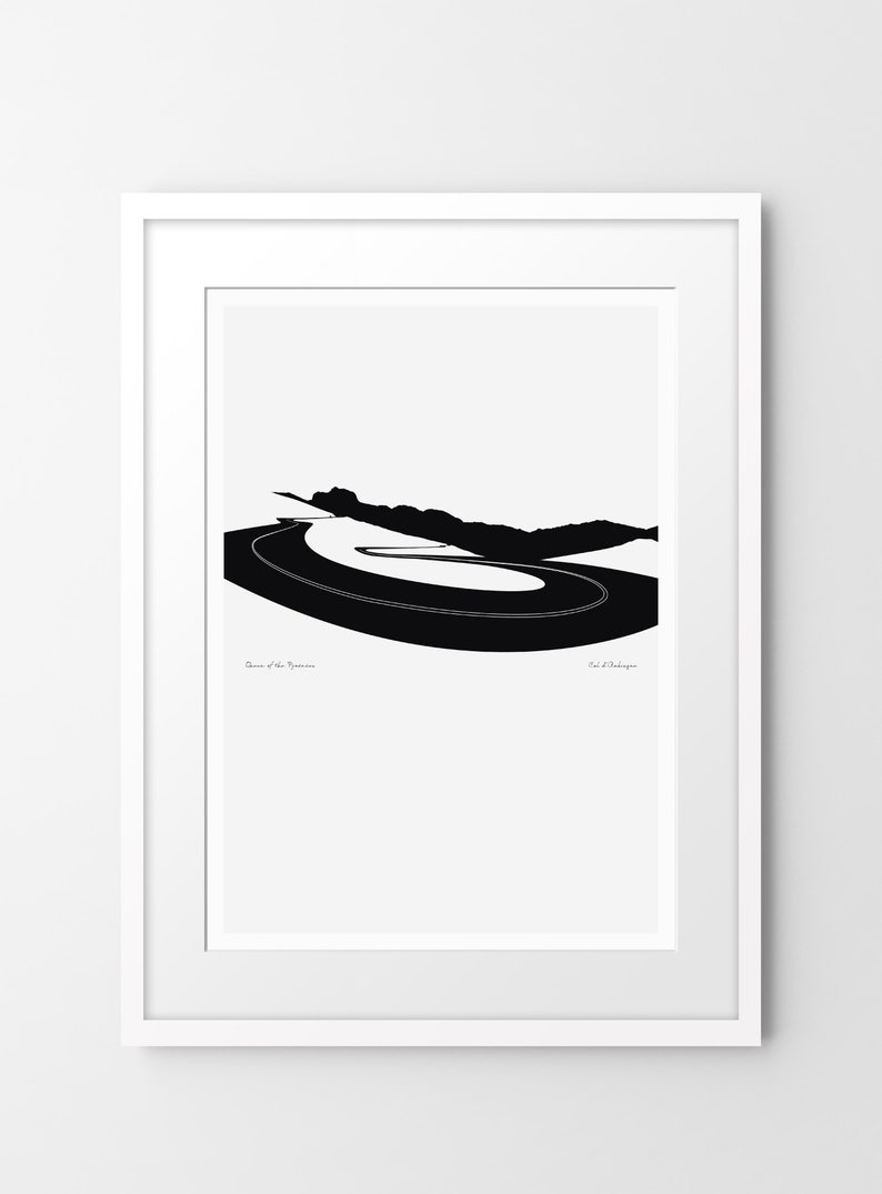 Queen of the Pyrenees  Col d'Aubisque  Limited edition image 0