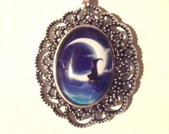 "Necklace ""On the moon"""