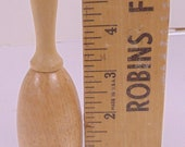 Vintage Primitive Natural Wood Sock Darning Egg Antique Darner Wooden Sewing Sock Repair Tool BH552