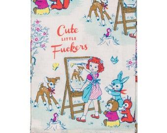 Cute Little Fuckers towel