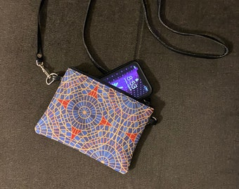 DragonCon carpet-inspired small zippered bag