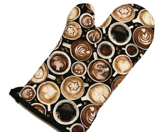 Coffee Addict Oven Mitt