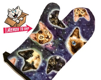 PREORDER - Galaxy Cat Oven Mitt