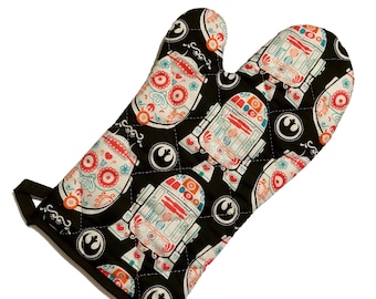 Star Wars Droid Sugarskull Oven Mitt
