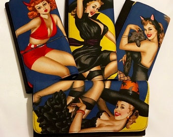 Horror Pinup wallet
