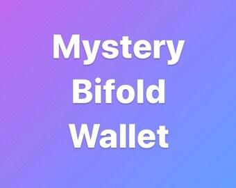 Mystery bifold wallet