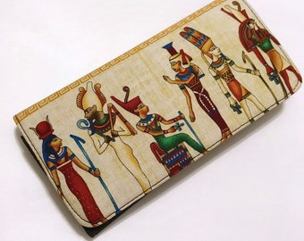 Egyptian-inspired wallet