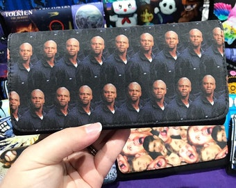Wallet made with Terry Crews fabric