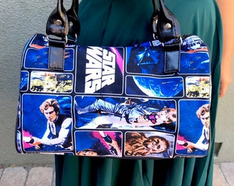 Handbag made with classic Star Wars fabric