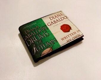 Diana Gabaldon book-inspired bifold wallet