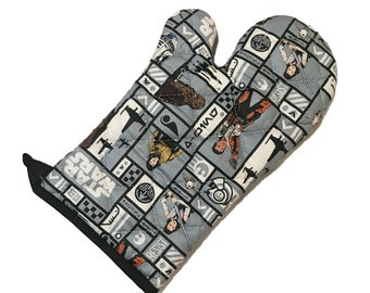 Oven Mitt made with new Star Wars fabric