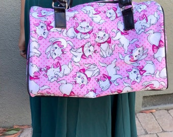 Handbag made with Marie fabric