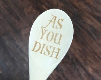 As You Dish wooden spoon