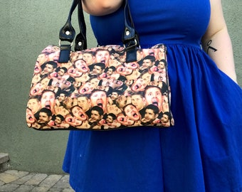 Handbag made with Supernatural-Dean Winchester fabric