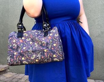 Handbag made with Firefly fabric