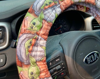 The Child-inspired Steering Wheel Cover