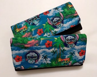 Wallet made with Stitch fabric