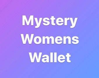 Mystery Womens Wallet