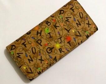 Stranger Things-inspired wallet