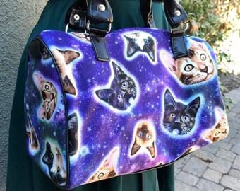 Space cat handbag