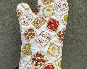 Avocado Toast Oven Mitt