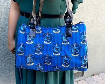 Handbag made with Ravenclaw fabric