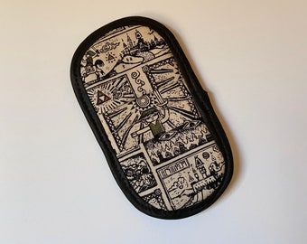 PREORDER - Mini mitt made with Zelda Windwaker fabric, kitchen decor