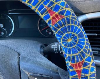 DragonCon carpet-inspired Steering Wheel Cover