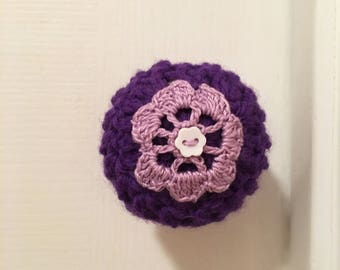 Door Knob Cover, Crochet Door Knob Cover, Door Decor, Handmade, Door Decor,  Housewarming Gift, Toddler Protection, Clean Knobs